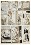 "Original Comic Art:Splash Pages, Bernie Wrightson Eerie #62 ""Cool Air"" page 2 Original Art(Warren, 1975). ..."