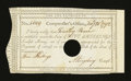 Colonial Notes:Connecticut, Connecticut Interest Certificate 5 Shillings February 28, 1792Anderson CT-50 Extremely Fine....