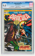 Bronze Age (1970-1979):Horror, Tomb of Dracula #10 (Marvel, 1973) CGC VF/NM 9.0 Off-white to whitepages....