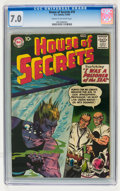 Silver Age (1956-1969):Mystery, House of Secrets #10 (DC, 1958) CGC FN/VF 7.0 Cream to off-whitepages....