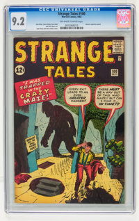 Strange Tales #100 (Marvel, 1962) CGC NM- 9.2 Off-white to white pages