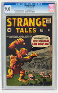 Silver Age (1956-1969):Horror, Strange Tales #98 (Marvel, 1962) CGC VF/NM 9.0 Off-white to whitepages....