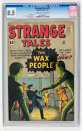 Silver Age (1956-1969):Science Fiction, Strange Tales #93 (Marvel, 1962) CGC VF+ 8.5 Cream to off-whitepages....