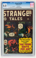 Silver Age (1956-1969):Science Fiction, Strange Tales #92 (Marvel, 1962) CGC VF 8.0 Off-white pages....