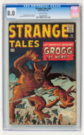 Silver Age (1956-1969):Science Fiction, Strange Tales #83 (Marvel, 1961) CGC VF 8.0 Off-white pages....