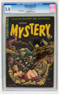 Golden Age (1938-1955):Horror, Mister Mystery #7 (Aragon, 1952) CGC GD/VG 3.0 Cream to off-whitepages....