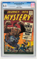 Silver Age (1956-1969):Mystery, Journey Into Mystery #76 Price Variant (Marvel, 1962) CGC VF+ 8.5Off-white pages....