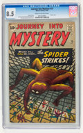 Silver Age (1956-1969):Mystery, Journey Into Mystery #73 (Marvel, 1961) CGC VF+ 8.5 Cream tooff-white pages....