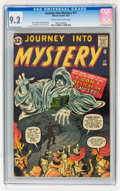 Silver Age (1956-1969):Horror, Journey Into Mystery #77 (Marvel, 1962) CGC NM- 9.2 Cream tooff-white pages....