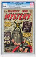 Silver Age (1956-1969):Superhero, Journey Into Mystery #85 (Marvel, 1962) CGC NM- 9.2 Off-white pages....
