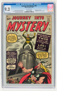 Journey Into Mystery #85 (Marvel, 1962) CGC NM- 9.2 Off-white pages