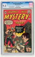 Silver Age (1956-1969):Superhero, Journey Into Mystery #87 (Marvel, 1962) CGC NM- 9.2 Off-white pages....