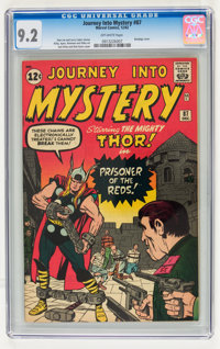 Journey Into Mystery #87 (Marvel, 1962) CGC NM- 9.2 Off-white pages