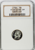 Proof Roosevelt Dimes: , 1960 10C PR69 Ultra Cameo NGC. PCGS Population (116/0). NumismediaWsl. Price for problem free NGC/PCGS...