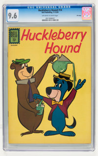 Huckleberry Hound #14 File Copy (Dell, 1961) CGC NM+ 9.6 Off-white to white pages