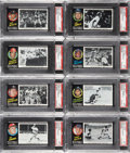 Baseball Cards:Lots, 1971 Topps Greatest Moments PSA-Graded Collection (22)....