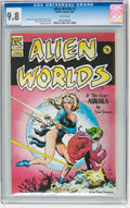 Modern Age (1980-Present):Science Fiction, Alien Worlds #2 (Pacific Comics/Eclipse, 1983) CGC NM/MT 9.8 Whitepages....
