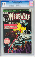 Bronze Age (1970-1979):Horror, Werewolf by Night #33 Western Penn pedigree (Marvel, 1975) CGC NM+9.6 White pages....