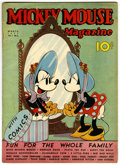 Platinum Age (1897-1937):Miscellaneous, Mickey Mouse Magazine V2#6 (K. K. Publications/ Western PublishingCo., 1937) Condition: GD/VG....