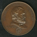 U.S. Presidents & Statesmen, 1897-Dated Grant Medal Struck for the ANS....
