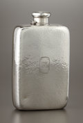 Silver Holloware, American:Flasks, AN AMERICAN SILVER FLASK. Tiffany & Co., New York, New York,1912. Marks: TIFFANY & CO., 18230 MAKERS 352, STERLINGSILVER...