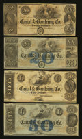 Obsoletes By State:Louisiana, New Orleans, LA- Canal & Banking Co. $20 (2); $50 (2). ... (Total: 4 notes)