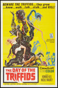 """Movie Posters:Science Fiction, The Day of the Triffids (Allied Artists, 1962). One Sheet (27"""" X41""""). Science Fiction.. ..."""