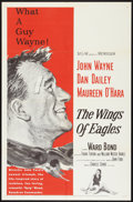 "Movie Posters:Drama, The Wings of Eagles (MGM, 1957). One Sheet (27"" X 41""). Drama.. ..."