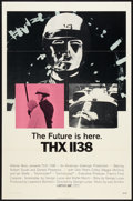 "Movie Posters:Science Fiction, THX 1138 (Warner Brothers, 1970). One Sheet (27"" X 41""). ScienceFiction.. ..."
