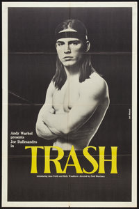 "Trash (Cinema 5, 1970). One Sheet (27"" X 41""). Drama"