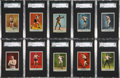 """Boxing Cards:General, 1910 T225 """"Prizefighter Series No. 101"""" Complete Set (25) - #4 on the SGC Set Registry...."""