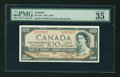 Canadian Currency: , BC-43b $100 1954 PMG Choice Very Fine 35 EPQ. ...