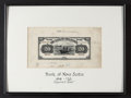 Canadian Currency:Texas, Halifax, NS- Bank of Nova Scotia $20 Feb. 1, 1918 Charlton Unlisted(550-28-16p) Face Proof. ...
