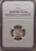 Barber Dimes: , 1909 10C MS64 NGC. NGC Census: (73/35). PCGS Population (82/48).Mintage: 10,240,650. Numismedia Wsl. Price for problem fre...