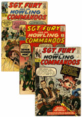 Silver Age (1956-1969):War, Sgt. Fury and His Howling Commandos #1-167 and Annuals 1-7 Two-Box Lot (Marvel, 1963-81).... (Total: 174 Comic Books)