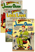Silver Age (1956-1969):Superhero, Superman's Girlfriend Lois Lane/Superman's Pal Jimmy Olsen Group(DC, 1960-62) Condition: Average VG/FN.... (Total: 6 Comic Books)