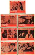 "Movie Posters:Hitchcock, Vertigo (Paramount, 1958). Lobby Cards (7) (11"" X 14"").. ...(Total: 7 Items)"