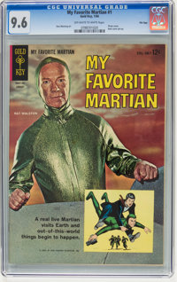My Favorite Martian #1 File Copy (Gold Key, 1964) CGC NM+ 9.6 Off-white to white pages