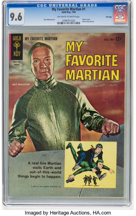 My Favorite Martian #1 File Copy (Gold Key, 1964) CGC NM+ 9.6 Off-white to white pages....