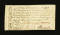 Colonial Notes:North Carolina, North Carolina December, 1771 £1 About New....