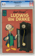 Silver Age (1956-1969):Cartoon Character, Ludwig Von Drake #3 (Dell, 1962) CGC VF+ 8.5 Off-white to whitepages....
