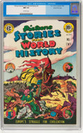 Golden Age (1938-1955):Non-Fiction, Picture Stories from World History #2 Gaines File Copy pedigree(EC, 1947) CGC NM 9.4 Off-white pages....