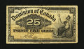 Canadian Currency: , DC-15b 25¢ 1900. ...