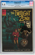 Silver Age (1956-1969):Mystery, Twilight Zone #12-860-210 File Copy (Dell, 1962) CGC NM 9.4Off-white to white pages....
