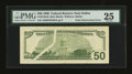 Error Notes:Obstruction Errors, Fr. 2126-K $50 1996 Federal Reserve Note. PMG Very Fine 25.. ...