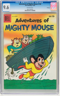 Adventures of Mighty Mouse #145 File Copy (Dell, 1960) CGC NM+ 9.6 Off-white pages