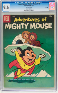 Adventures of Mighty Mouse #149 File Copy (Dell, 1961) CGC NM+ 9.6 Off-white pages