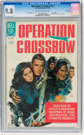 Silver Age (1956-1969):Horror, Movie Classics Operation Crossbow #nn File Copy (Dell, 1965) CGCNM/MT 9.8 Off-white to white pages....