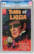 Silver Age (1956-1969):Horror, Movie Classics: Tomb of Ligeia - File Copy (Dell, 1965) CGC NM+ 9.6Off-white pages....