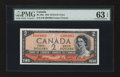 Canadian Currency: , BC-30a $2 1954. ...